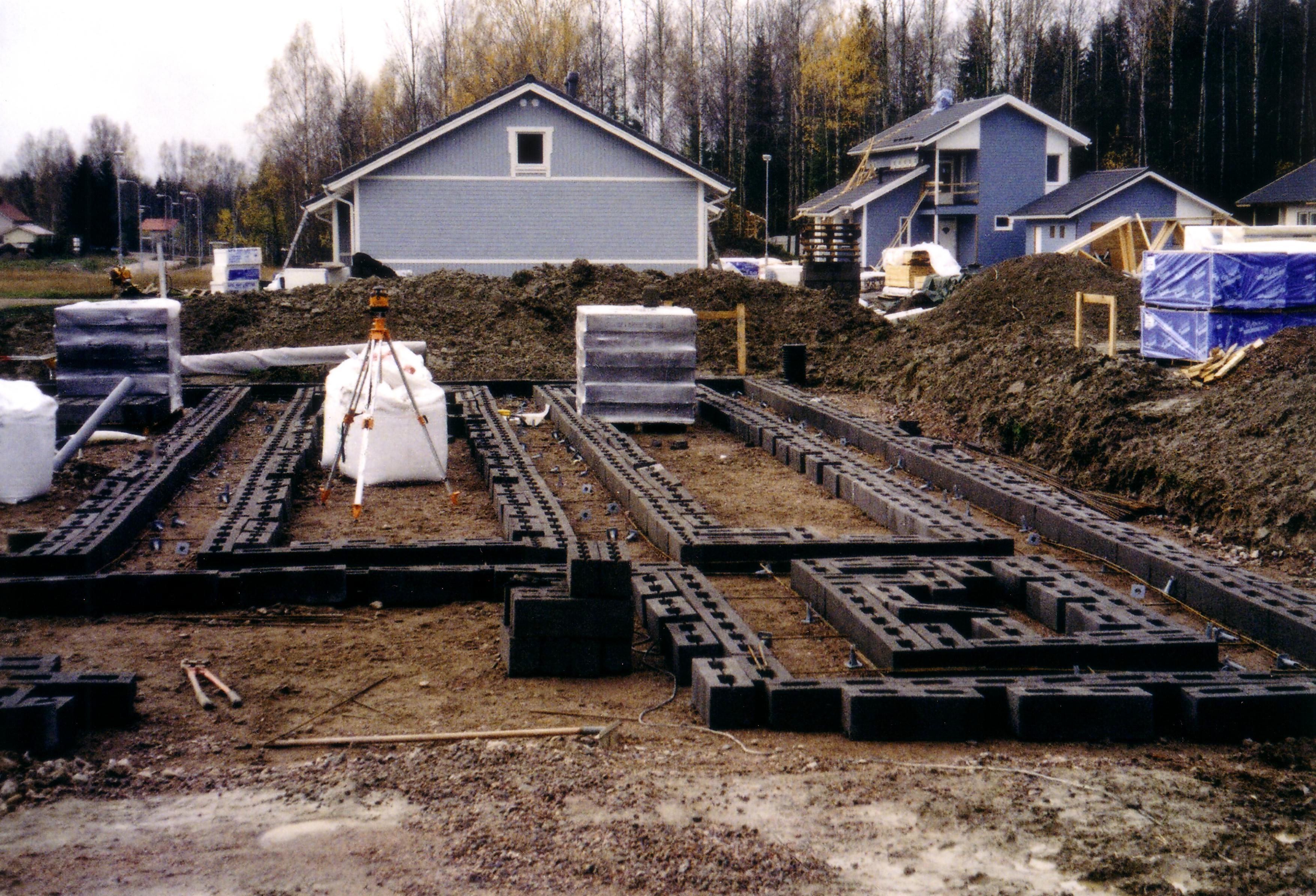Maja ehitus kui projekt – lepi tööde sisu alati enne kokku