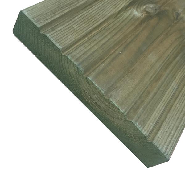 Terrassilaud 28x145mm roheline