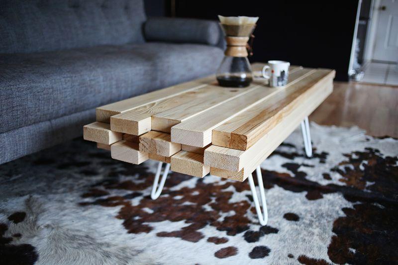 Hea idee: tee ise puidust diivanilaud