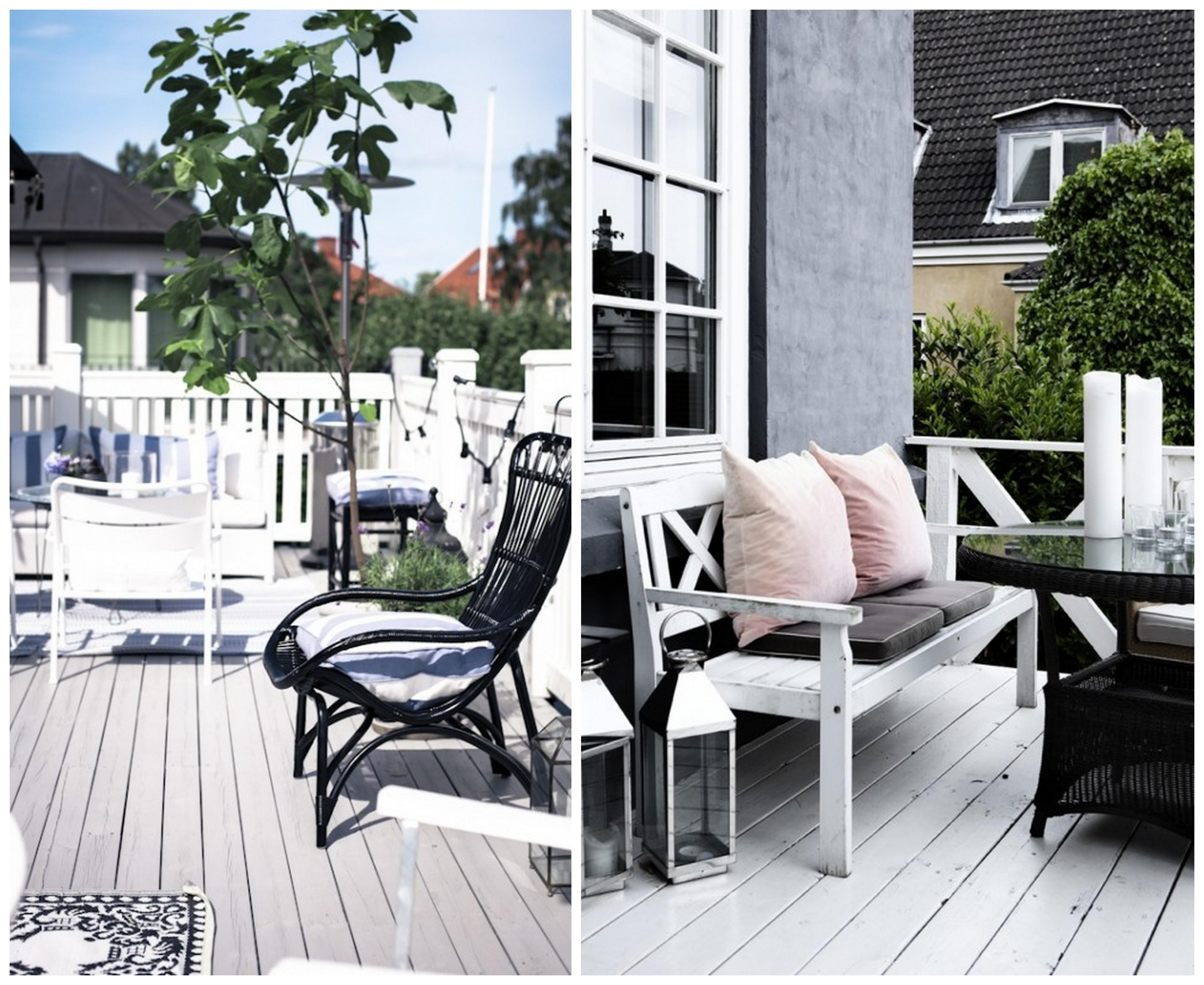 25 kaunist terrassi Skandinaaviast