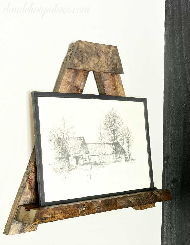 Tee ise: puidust riiul seinale