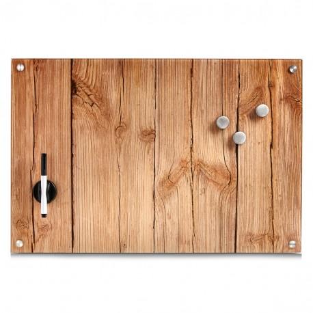 memotahvel-seinatahvel klaasist wood