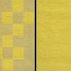 2 puuvillane vaip kollane-helekollane