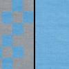 8 puuvillane vaip hall sinine