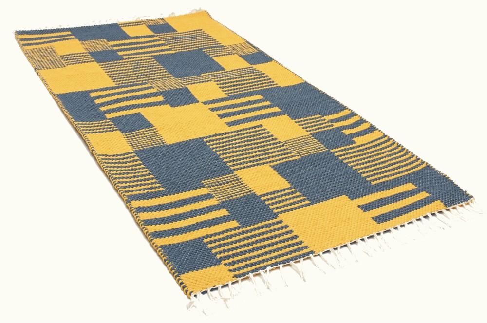 Puuvillane trikoovaip Emmi kollane hall