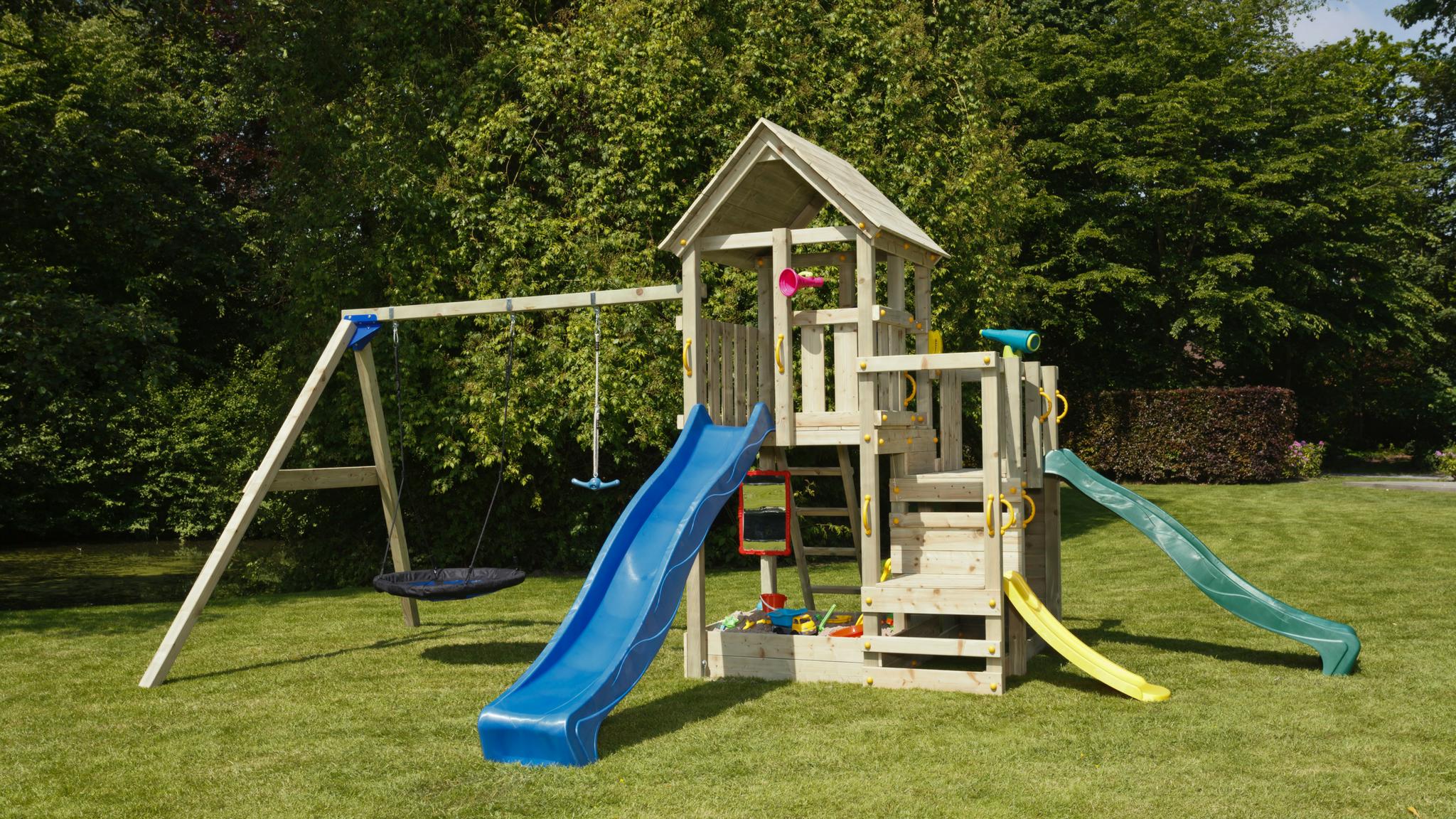 Kodune mänguväljak on lapsele arendav