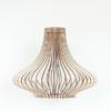 Dekoratiivne puidust lamp