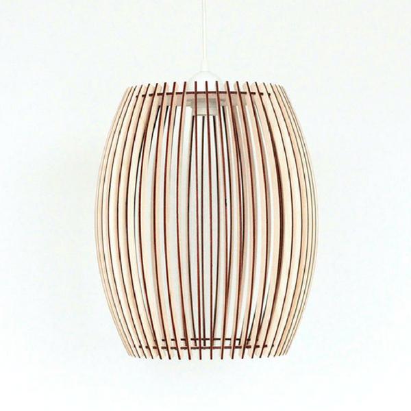 Käsitöö puidust lamp