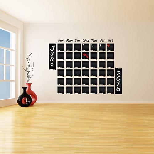 Seinakleebis kriiditahvel kalender 1