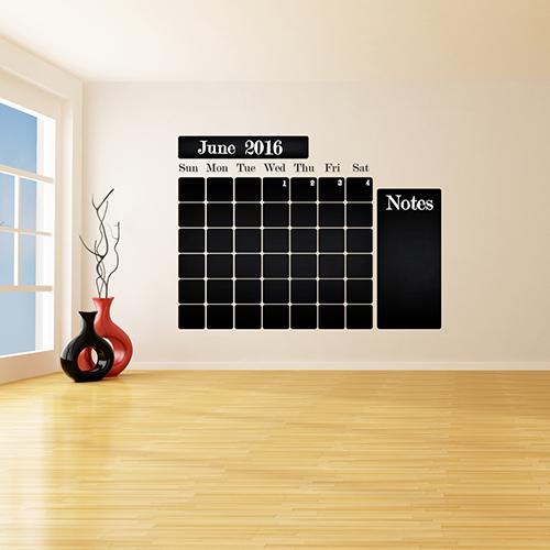 Seinakleebis kriiditahvel kalender 2