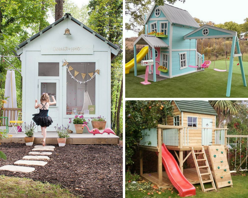 Tee ise: lastele mängumaja aeda