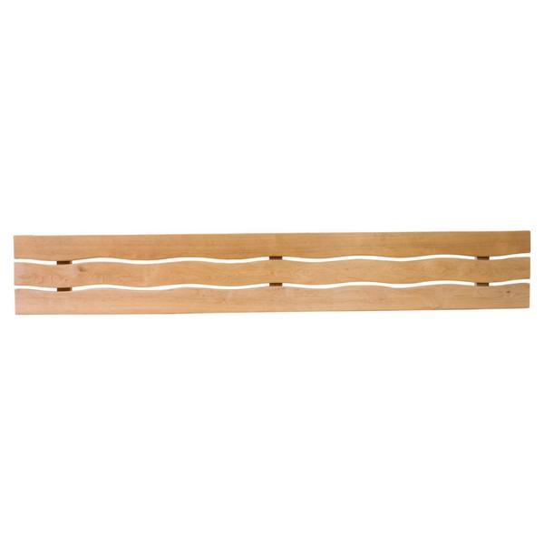 Saunalava laineline seljatugil, lepp / laius 270mm