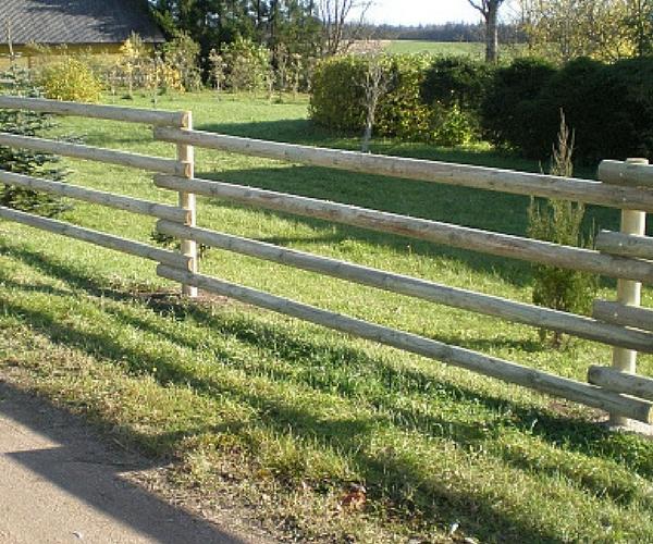 Puidust aialatt süvaimmutatud 85mm poolitatud