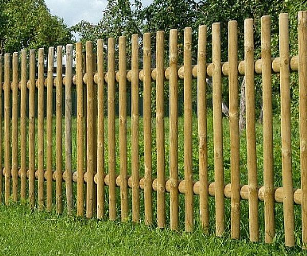 Puidust aialipp süvaimmutatud 60mm poolitatud